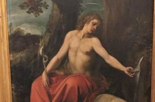 St John the Baptist by Cavaliere d'Arpino_